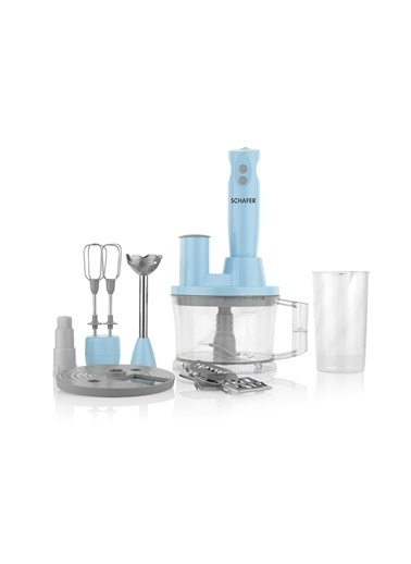 Schafer Elektro Chef 15 Parça Mega Blender Set - Tur01 Turkuaz